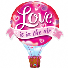 Love In The Air Balloon Large Foil Balloon 1pc